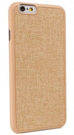 Ozaki o!coat 0.3+canvas case for iphone 6 - khaki