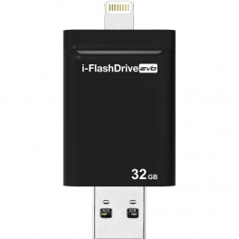Внешний накопитель Photofast iFlashDrive Evo 32Gb для iPhone 5/5s/6/6+, iPad 5/mini, PC/Mac