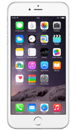 Apple iphone 6 plus silver 64gb-rus