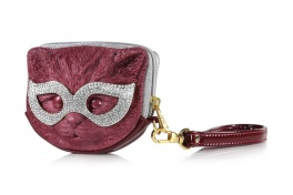 Сумка 3d eye mask cat titanic red:gold + white Adamo