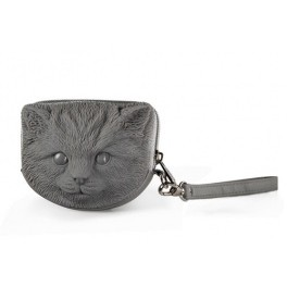 Сумка 3d tuna kitten deep grey Adamo