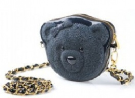 Сумка 3d ribbin bear 2 navy blue Adamo