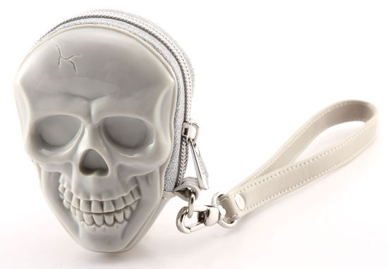 Сумка 3d skull cool grey + nickel puller Adamo
