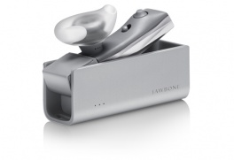 Jawbone w/charge case bluetooth гарнитура jc03-01-em1 silver