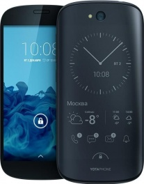 "YOTA YOTAPHONE 2 (YD201) 2.2Ghz/1st - 5'' IPS/2nd - 4.7"" eLink/2Gb/32Gb/LTE/WiFi/BT/8MP/And 4.4"