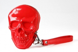 Сумка 3d skull red + nickel puller Adamo