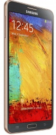 SAMSUNG galaxy note 3 (sm-n9000bdeser) black gold