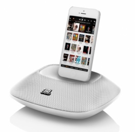 Акустическая система JBL On Beat Micro с lightning для iPhone/iPod jblonbeatmicwhteu. Белая