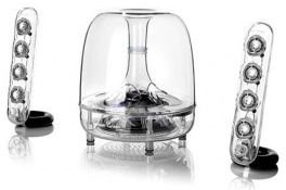 Акустическая система Harman Kardon SoundSticks III Wireless для Mac.