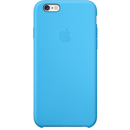 Apple iphone 6 silicone case blue
