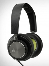 Наушники Bang & Olufsen BeoPlay H6 для iPhone/iPod/iPad Черная кожа