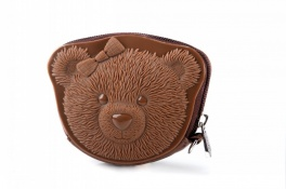 Сумка 3d ribbin bear 1 brown Adamo