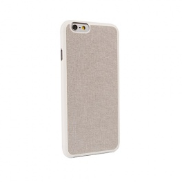 Ozaki O!coat 0.3+Canvas case for iPhone 6 - Grey