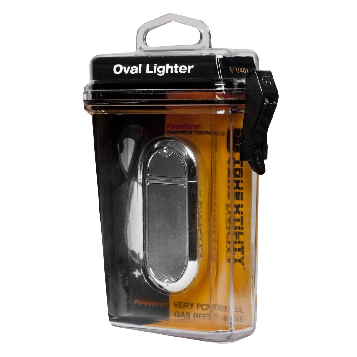 Зажигалка fire wire oval lighter chrome tu61c True Utility