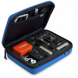 Кейс средний sp pov case small GoPro-edition blue 52031 UNLIM