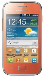 SAMSUNG galaxy ace duos (gt-s6802zoaser) orange