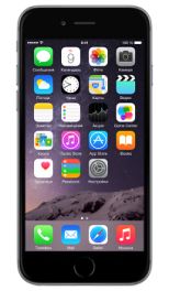 Apple iphone 6 space gray 16gb-rus