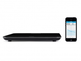 Withings wireless scale (black/white)/универсальные wifi весы Withings (чёрные/белые)