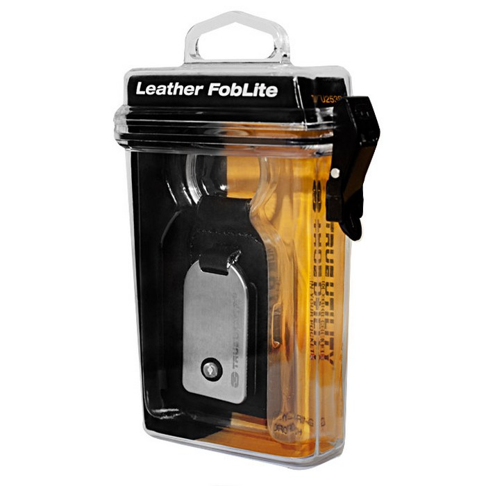 Фонарь брелок leather fob lite black tu253 True Utility