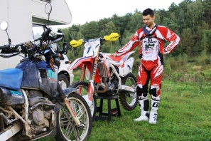 Александр Иванютин на  Honda Racing MX Russia