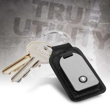 Leather Fob Lite Black TU253